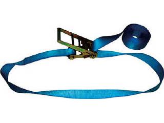 TESAC/テザック 【代引不可】ラッシングベルト(ベルト荷締機)ラチェットバックル式エンドレスタイプ R100N080-000A