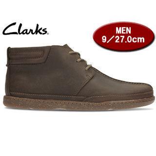 Clarks/クラークス 【在庫限り】26122252 Trapell Mid トラペルミッド メンズ 【JP27.0/UK9.0】(ダークブラウンレザー) 掲載商品は他店舗でも同時販売しております。売り切れの際はご容赦ください。