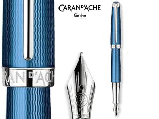 CARAN dACHE/カランダッシュ 【Leman/レマン】グランブルー 万年筆 BB 4799-188