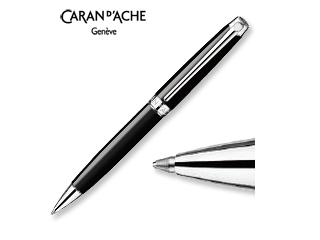 CARAN dACHE/カランダッシュ 【Leman/レマン】エボニー ブラック ボールペン 4789-782