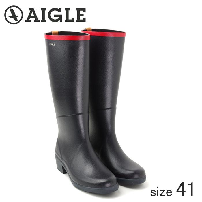≪正規品≫ AIGLE/エーグル ラバーレインブーツ MISS JULIETTE A (MARINE ROUGE/サイズ41:25.5cm)