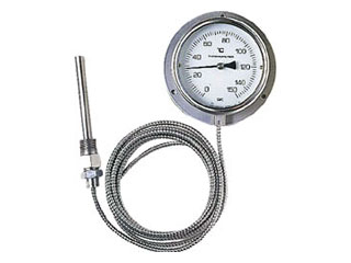 skSATO/佐藤計量器製作所 隔測指示温度計 LB-100S-3
