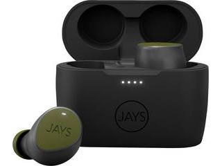 JAYS/ジェイズ 完全ワイヤレス JAYS m-Seven トゥルーワイヤレスイヤホン(Bluetooth 5.0/グリーン) JS-MSTW-GR