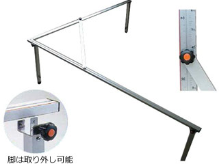 SHINWA/シンワ測定 【時間帯指定不可】折たたみスコヤ 1.8m 77840