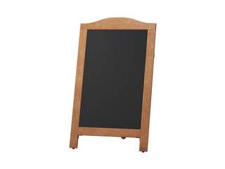 マーカー用スタンド黒板 茶 マグネット対応 YKBD103-1