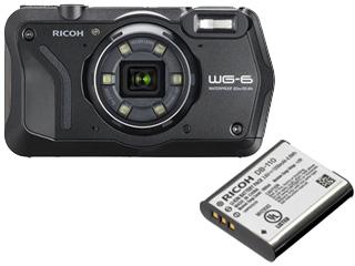 RICOH/リコー WG-6(ブラック)+DB-110 充電式バッテリーセット【wg6set】