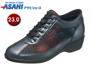 ASAHI/アサヒシューズ KS23293-1 快歩主義 L114AC 【23.0cm・3E】 (ガンメタ)