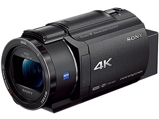 SONY/ソニー 【納期未定】FDR-AX45-B(ブラック) デジタル4Kビデオカメラレコーダー Handycam/ハンディカム 空間光学手ブレ補正/内蔵メモリー64GB/光学20倍ズーム/最大広角26.8mm(35mm換算) 【ビデオカメラ】
