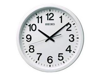 SEIKO/セイコークロック 【GP202W】 衛星電波掛時計