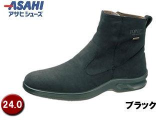 ASAHI/アサヒシューズ AF38351 TDY3835 トップドライ ゴアテックス メンズブーツ 【24.0cm・4E】 (ブラック)