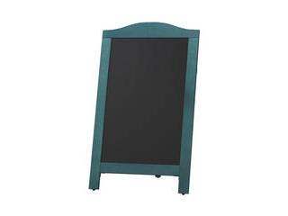 マーカー用スタンド黒板 青 マグネット対応 YKBD103-2