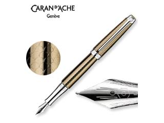 CARAN dACHE/カランダッシュ 【Leman/レマン】キャビア 万年筆 M 4799-497
