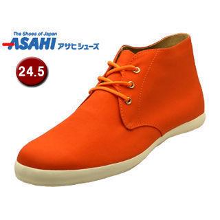 ASAHI/アサヒシューズ AX11221 アサヒウォークランド 037GT レインスニーカー 【24.5cm・2E】 (オレンジ)