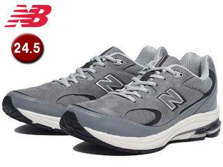 NewBalance/ニューバランス MW1501-MG-6E ウォーキングシューズ メンズ 【24.5cm】【6E(超ワイド)】 (ミディアムグレー)
