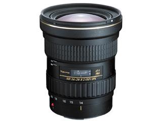 【納期にお時間がかかります】 TOKINA/トキナー AT-X 14-20 F2 PRO DX キヤノンEFマウント 広角ズームレンズ 【お洒落なクリーニングクロスプレゼント!】 Canon EFマウント
