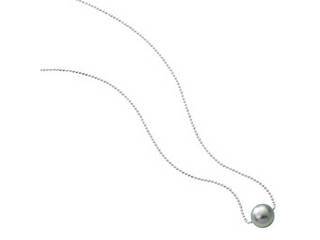 黒蝶真珠一粒ネックレス