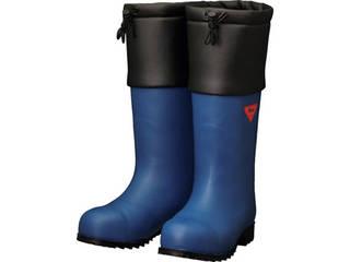 SHIBATA/シバタ工業 防寒安全長靴 セーフティベアー#1001白熊(ネイビー) 25.0cm AC051-25.0