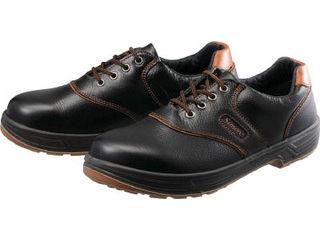 Simon/シモン 安全靴 短靴 SL11-B黒/茶 24.5cm SL11B-24.5
