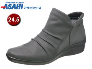 ASAHI/アサヒシューズ AF39567 TDY3956 トップドライ ゴアテックス ショートブーツ 【24.5cm・3E】 (グレー)