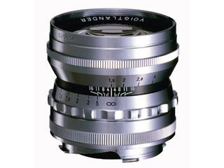 COSINA/コシナ NOKTON vintage line 50mm F1.5 Aspherical VM (シルバー) 【15thcatokka】