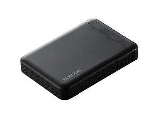 ELECOM エレコム ビデオカメラ向けポータブルハードディスク 2TB ELP-EDV020UBK