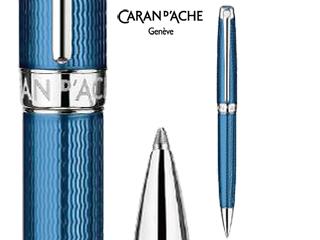 CARAN dACHE/カランダッシュ 【Leman/レマン】グランブルー ボールペン 4789-168