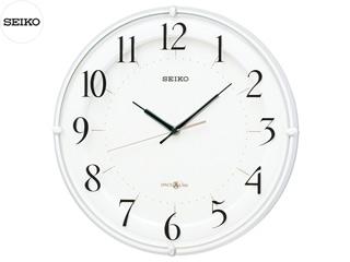 SEIKO/セイコークロック GP216W 衛星電波掛時計(スペースリンク) 白パール塗装