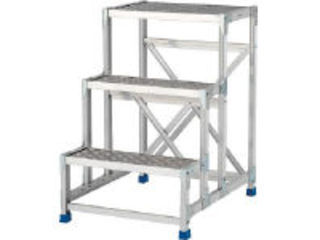 ALINCO/アルインコ 作業台(天板縞板タイプ)3段 CSBC396S