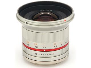 【納期にお時間がかかります】 SAMYANG/サムヤン 12mm F2.0 NCS CS(シルバー) キヤノンM用 【お洒落なクリーニングクロスプレゼント!】