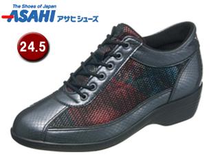 ASAHI/アサヒシューズ KS23293-1 快歩主義 L114AC 【24.5cm・3E】 (ガンメタ)