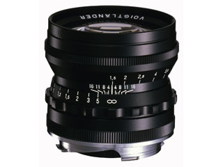 COSINA/コシナ NOKTON vintage line 50mm F1.5 Aspherical VM (ブラック) 【15thcatokka】