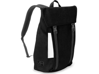 MH WAY/エムエイチウェイ BELL BACKPACK L WITH FLAP ブラック 20L MH-004BK