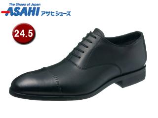 【nightsale】 ASAHI/アサヒシューズ AM51031-1 通勤快足 TK51-03 ゴアテックス ビジネスシューズ 【24.5cm・3E】 (ブラック)