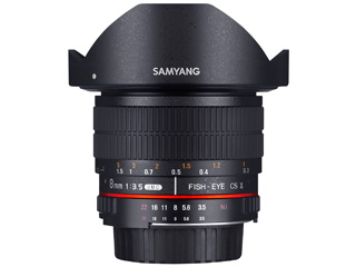 SAMYANG/サムヤン 8mm F3.5 UMC FISH-EYE CS II ペンタックスK用 【お洒落なクリーニングクロスプレゼント!】