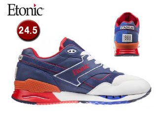 Etonic/エトニック EMLJ17-07-116 STABLE BASE STADIUM UNISEX 【24.5】(WHT/NAV/RED)