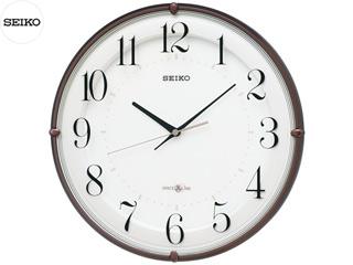 SEIKO/セイコークロック GP216B 衛星電波掛時計(スペースリンク) 茶メタリック塗装