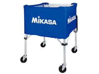 MIKASA/ミカサ 器具 ボールカゴ 屋外用(フレーム・幕体・キャリーケース3点セット) ブルー BCSPHL-BL