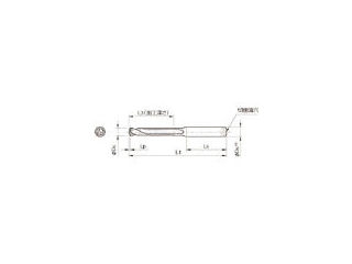 KYOCERA/京セラ ドリル用ホルダ SS18-DRC170M-5