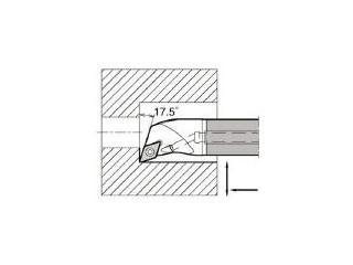 KYOCERA/京セラ 内径加工用ホルダ E12Q-SDQCR07-16A