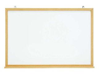 【代引不可】木目スチールホワイトボード MOKU-F918