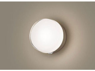 Panasonic/パナソニック LGWC81315LE1 LEDポーチライト プラチナメタリック【電球色】【明るさセンサ付】【壁直付型】