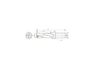 KYOCERA/京セラ ドリル用ホルダ S20-DRZ1545-05