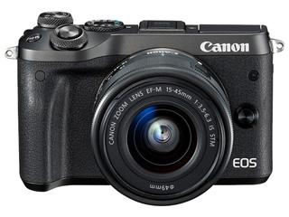 CANON/キヤノン EOS M6・EF-M15-45 IS STM レンズキット(ブラック)  1724C014