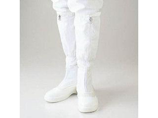 GOLDWIN/ゴールドウイン 静電安全靴ファスナー付ロングブーツ ホワイト 24.5cm PA9850-W-24.5