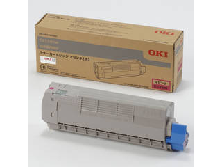 OKI/沖データ トナーカートリッジ(大) マゼンタ (C612dnw) TC-C4DM2
