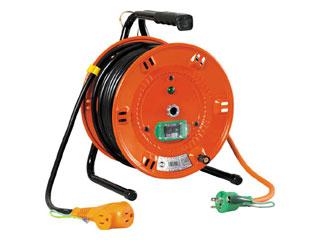 NICHIDO/日動工業 電工ドラム びっくリール 100V アース漏電しゃ断器付 30m NL-EB30S (単相100V)