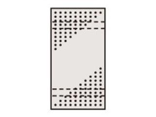 SAKAE/サカエ 【代引不可】ステンレスパンチングウォールシステム PO-451LSU