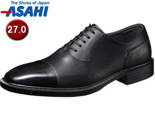 【nightsale】 PKSS06 ASAHI/アサヒシューズ AM33091 TK33-09 通勤快足 メンズ・ビジネスシューズ 【27.0cm・3E】 (ブラック)