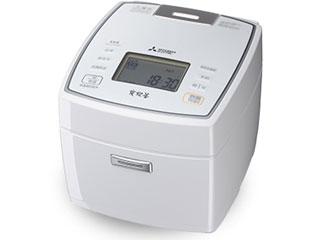 MITSUBISHI/三菱 NJ-VVA10-W(ピュワホワイト) IH炊飯器 備長炭 炭炊釜【5.5合炊き】