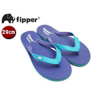 fipper/フィッパー FJ02-C13 ビーチサンダル コンフォートタイプ 【29cm(UK10)】(パープル・ターコイズ/ターコイズ・パープル)